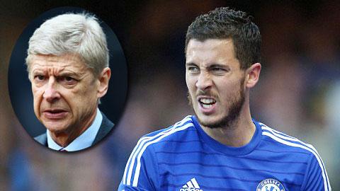 Wenger luôn dành sự ngưỡng mộ cho Hazard