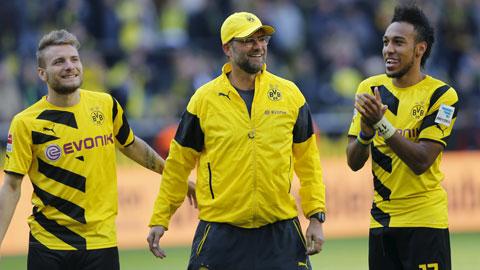 Dortmund nhẹ nhàng hạ gục Frankfurt
