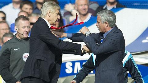Wenger và Mourinho ít khi sống