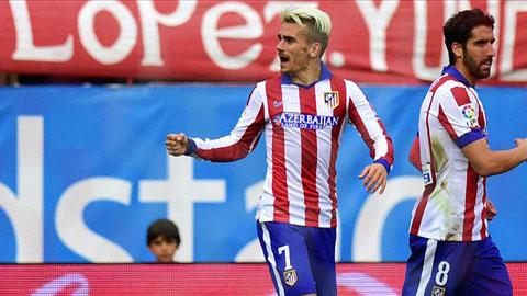 Atletico đã có chiến thắng thứ 4 liên tiếp trên sân nhà trước Elche mà không để lọt lưới