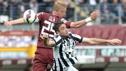 Juventus chưa thể sớm đăng quang ở Serie A