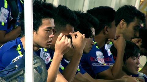 Văn Toàn tiếc nuối khi HA.GL thua sát nút Hà Nội T&T với tỷ số 3-4