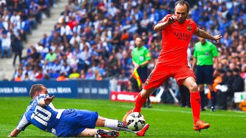 Đánh bại Espanyol, Barca đã vượt qua chặng Tourmalet vô cùng gian nan