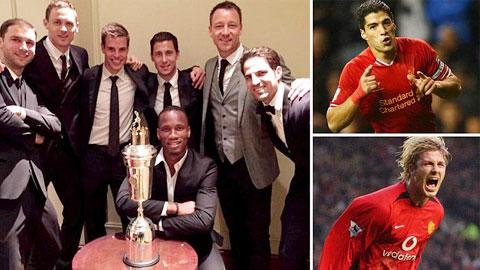 M.U có số cầu thủ từng lọt vào ĐHTB nhiều nhất trong lịch sử Premier League