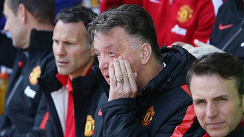Van Gaal nhận ra sự thiếu hụt về mặt tinh thần của M.U ngay từ đầu