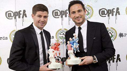 Gerrard và Lampard được PFA vinh danh
