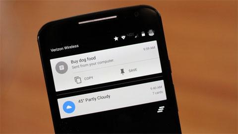 Google tăng khả năng tương tác thông minh giữa smartphone và máy tính bằng những tính năng mới
