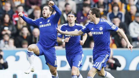 Sự thực dụng trong lối chơi đã giúp Chelsea vượt qua hai bài test khó khăn để tiến rất gần đến chức vô địch Premier League mùa này