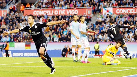 Chicharito tỏa sáng với 3 bàn thắng trong 2 trận gần nhất của Real