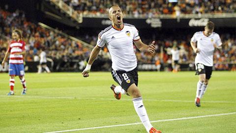 Valencia có chiến thắng dễ dàng trước Granada