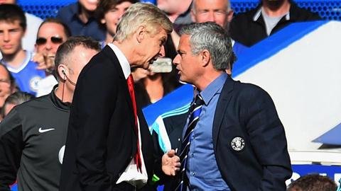 Giữa Mourinho và Wenger luôn là những cuộc khẩu chiến không có hồi kết