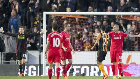 Giấc mơ Champions League của Liverpool coi như thành mơ hão