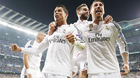 Không khó để Ronaldo và đồng đội dội mưa bàn thắng vào lưới Almeria như những trận đối đầu trước đây