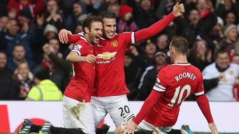 """Van Persie sẵn sàng làm """"kép phụ"""" cho Rooney"""