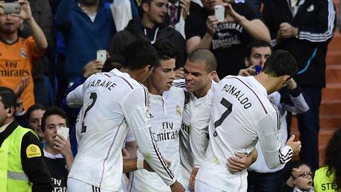 Real Madrid có chiến thắng để bám đuổi Barca