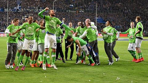 Wolfsburg đã giành vé vào chung kết