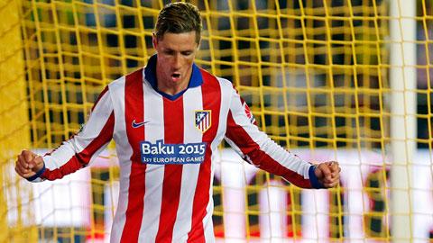 Torres ghi bàn duy nhất giúp Atletico giành chiến thắng