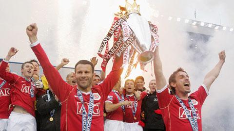 Trong 25 năm qua, M.U giành tới 13 chức vô địch Premier League