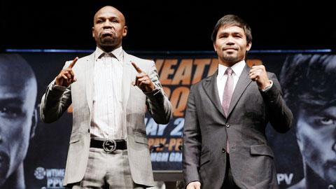 Floyd Mayweather vs Manny Pacquiao: Gã côn đồ mê tiền đại chiến người hùng nhân ái
