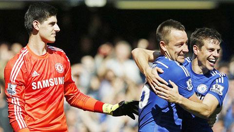Chelsea chính thức là tân vương Premier League 2014/15
