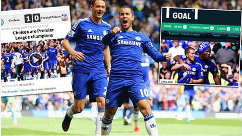 Chelsea đã có chức vô địch Premier League lần thứ 4 trong lịch sử