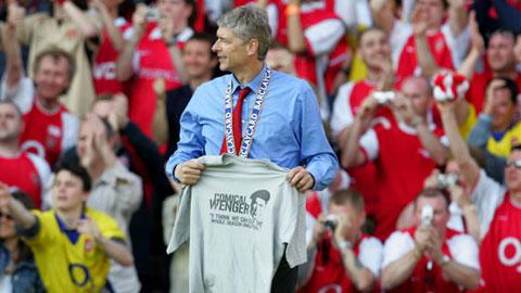 Wenger từng dẫn dắt Arsenal đến thành công bằng những chiến thắng thực dụng