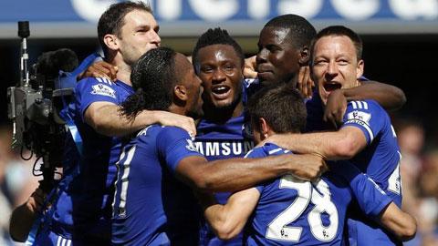 Chelsea lên ngôi vô địch đầy thuyết phục