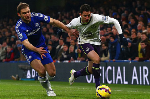 Ivanovic chơi cực kỳ ấn tượng tại Premier League 2014/15