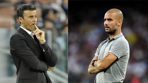 Pep Guardiola và Luis Enrique ai sẽ có được chiến thắng?
