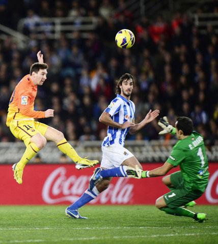 Lịch thi đấu bóng đá: Barcelona vs Real Sociedad