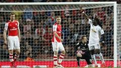 Arsenal 0-1 Swansea City:Bât ngờ cực lớn