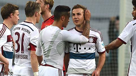 Goetze sẽ chia tay Bayern sau khi mùa giải 2014/15 kết thúc?