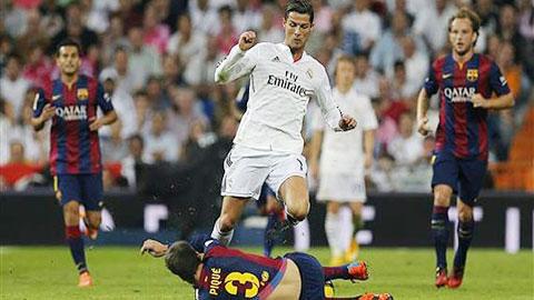 Barcelona đã để thua 1-3 ở trận El Clasico đầu tiên mùa giải