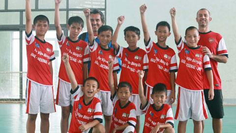 Học viện NutiFood Arsenal JMG tuyển sinh khắp cả nước