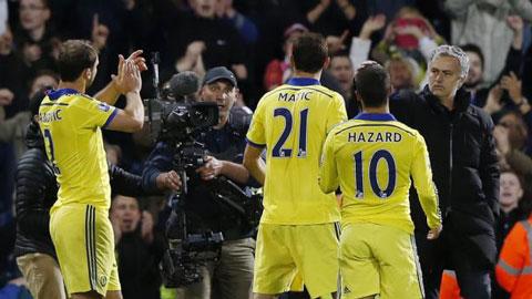 Chelsea của Mourinho đã trải qua 90 phút đầy nhọc nhằn
