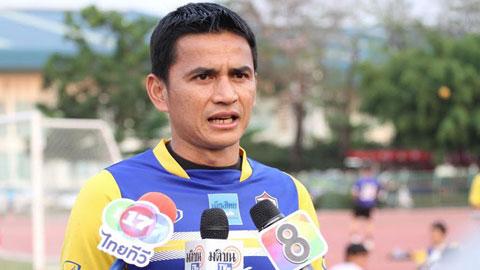 Kiatisak đặt mục tiêu chiến thắng cho Thái Lan