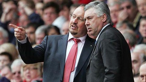 Chỉ hơn 7% fan Real muốn Benitez thay thế Ancelotti