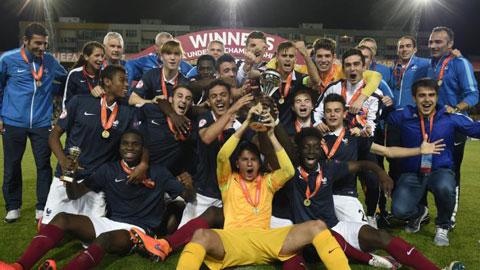 Đè bẹp U17 Đức, U17 Pháp vô địch châu Âu