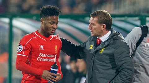 Nhiều khả năng Sterling sẽ ra đi vì không còn được trọng dụng tại Liverpool