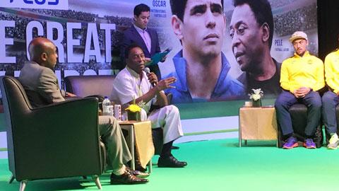 Pele: 'Tôi muốn làm đồng đội của... Messi'