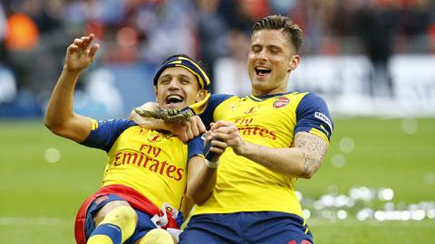 Arsenal vô địch FA Cup: Câu trả lời của Alexis Sanchez