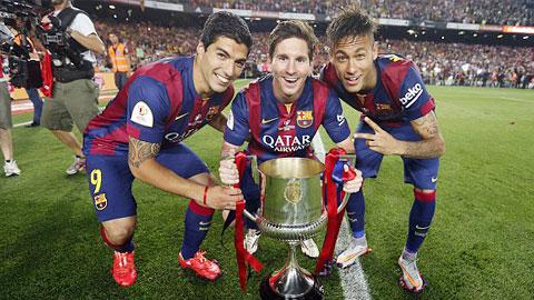 Suarez, Messi và Neymar đang khiến cả châu Âu chao đảo