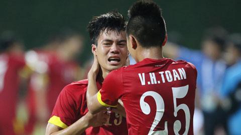 Văn Toàn đã khóc khi ghi bàn ấn định chiến thắng 5-1 cho U23 Việt Nam