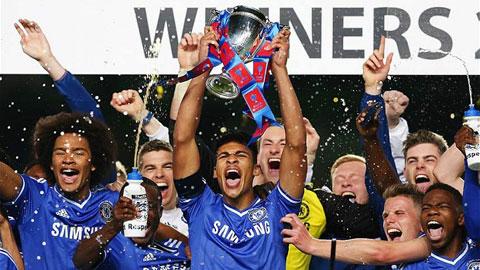 Chelsea ăn mừng chức vô địch