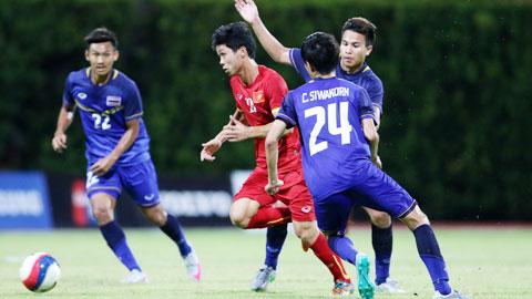 Trận đấu vừa qua với U23 Thái Lan chỉ mang tính thủ tục
