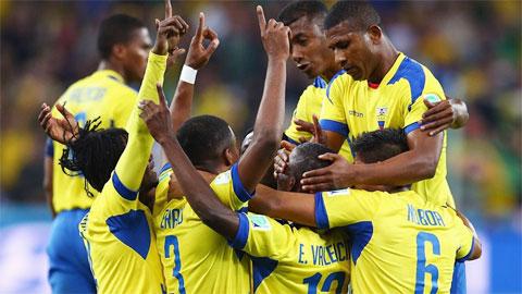 Ecuador đang được kỳ vọng sẽ là ngựa ô tại Copa America 2015