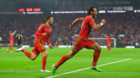 Bale vừa có một trận đấu rất hay trong màu áo xứ Wales