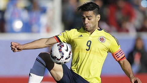 Falcao đang thi đấu tại Copa America