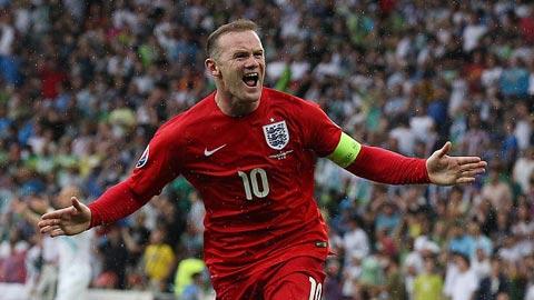 Rooney đã có được 48 bàn cho ĐT Anh