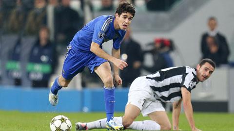 Oscar có thể là đồng đội của Barzagli tại Juve từ mùa tới
